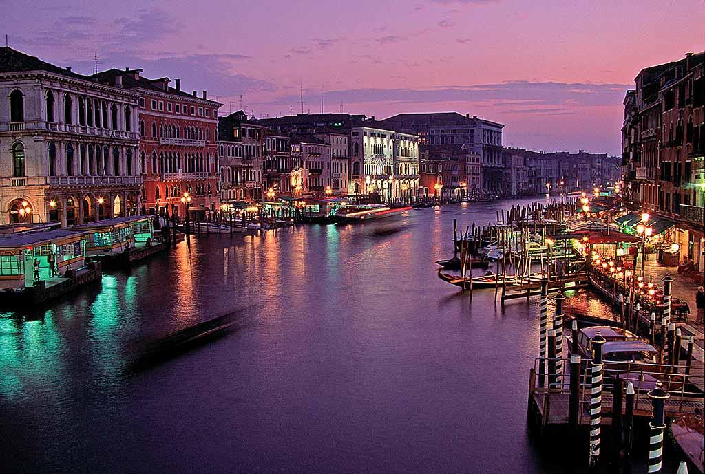 Venezia-_-Il-Canal-Grande-dal-ponte-di-Rialto