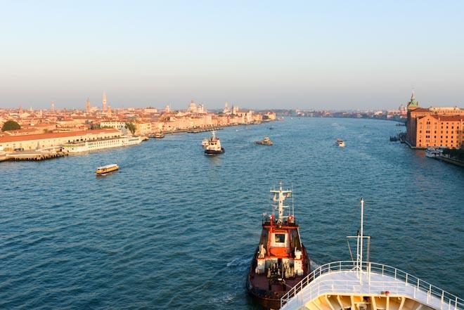 Italia- Piemonte-Venezia- Canale della Giudecca