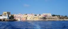 Ventotene, l'isola battuta dal vento