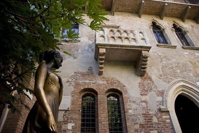Verona / Balcone di Giulietta