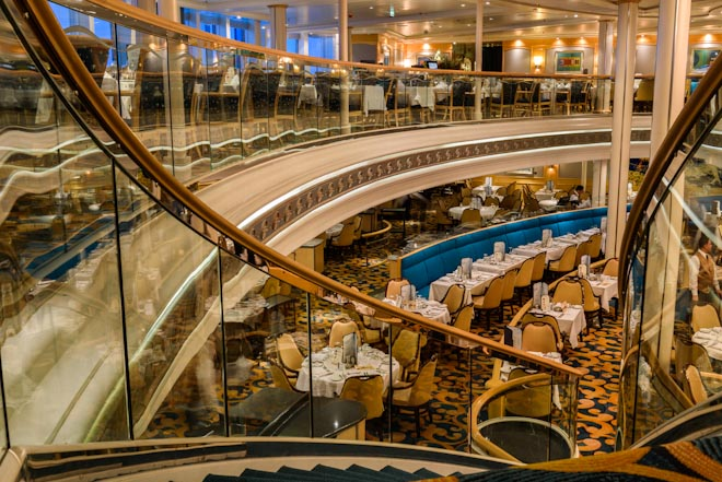 Vision of the Seas- Ristorante Aquarius
