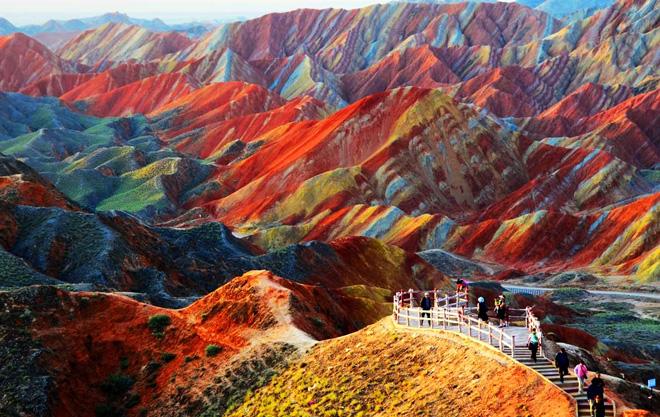 Zhangye-Danxia-Geopark