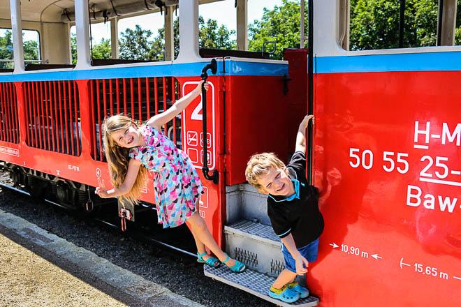 Il Trenino dei bambini a Budapest