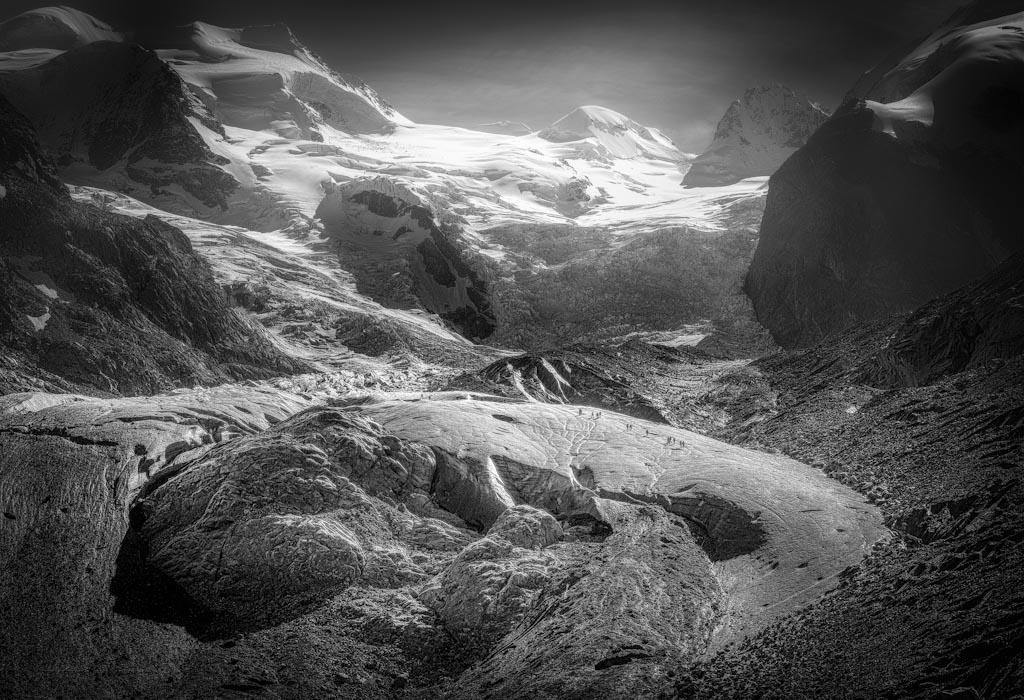Verloren im Eis Gruppo sul Bernina, Svizzera Photo ©Arne Link (Germania)