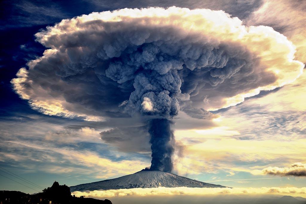 Etna Eruption Etna – Sicilia - Italia Photo © Giuseppe Mario Famiani (Italia)