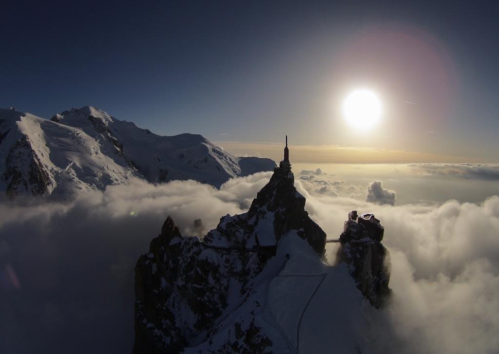 The perfect flight Aiguille du Midi – Mont Blanc – Chamonix - Francia Photo © John Layden (Francia)