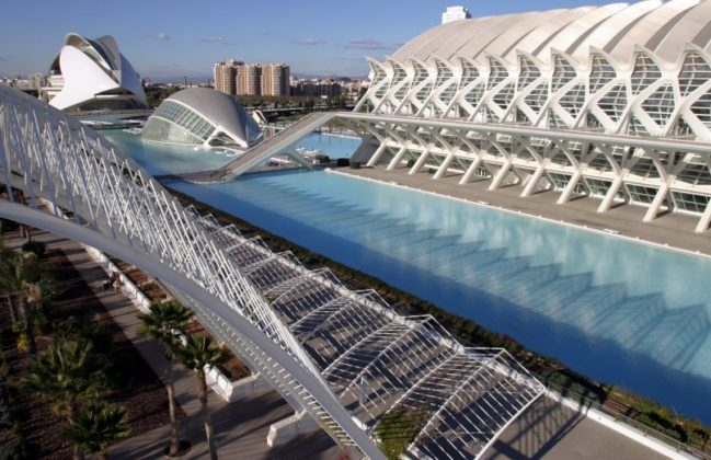 Città delle arti e delle scienze, Valencia, Spagna