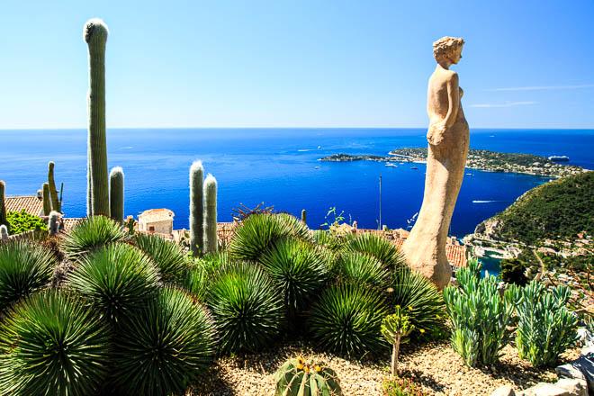 Vista Sullo Spettacolare Panorama Della Costa Azzurra