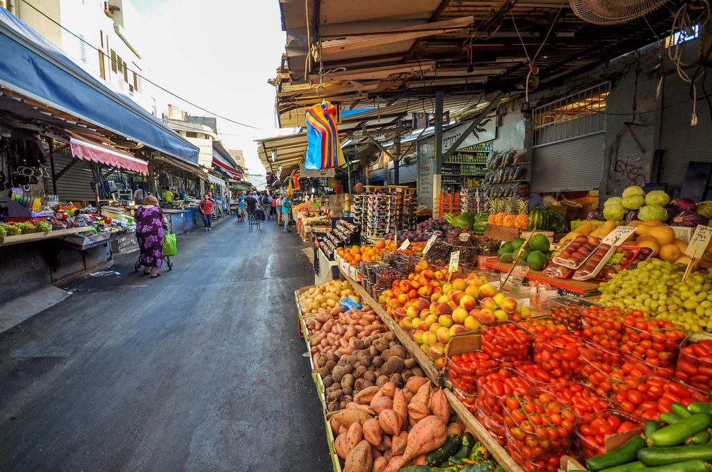 Carmel Market, Tel-Aviv, Israele