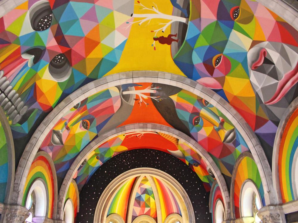 Chiesa Skatepark, Llarena