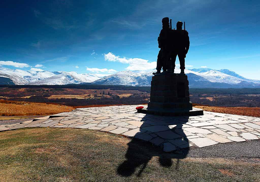 commando-memorial-canale-caledonia-scozia