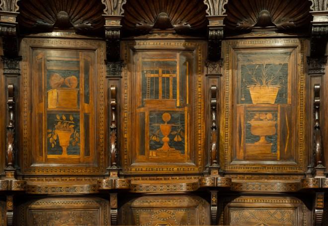 coro ligneso cattedrale di Alba
