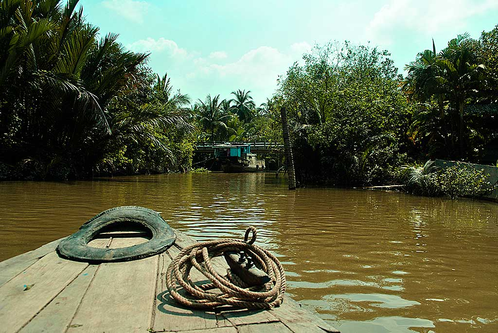 Canali navigabili nei pressi di My Tho