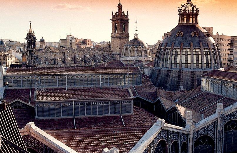Mercato Centrale, Valencia, Spagna