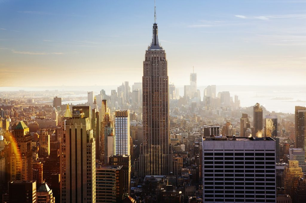 new york, empire