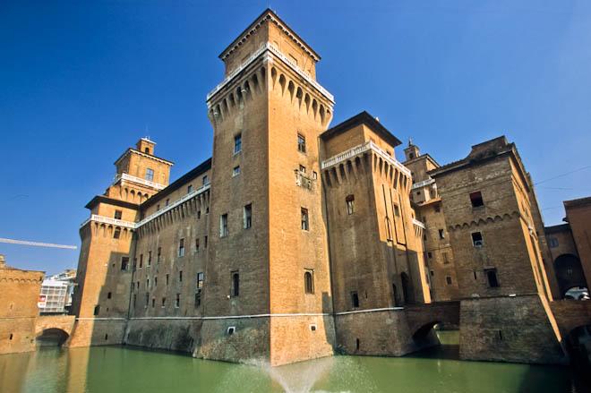 Estense Castle, Ferrara, Emilia Romagna, Italy, Europe