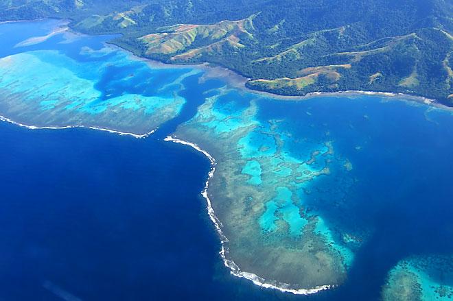 Fiji, veduta aerea