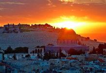 Gerusalemme_tramonto