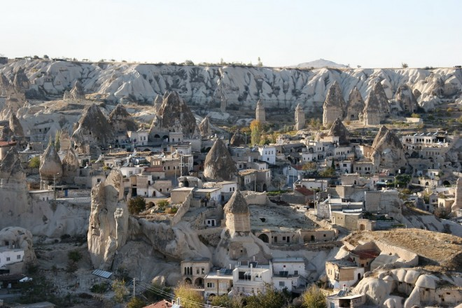 Goreme in Turchia è al primo posto nella classifica di Trivago