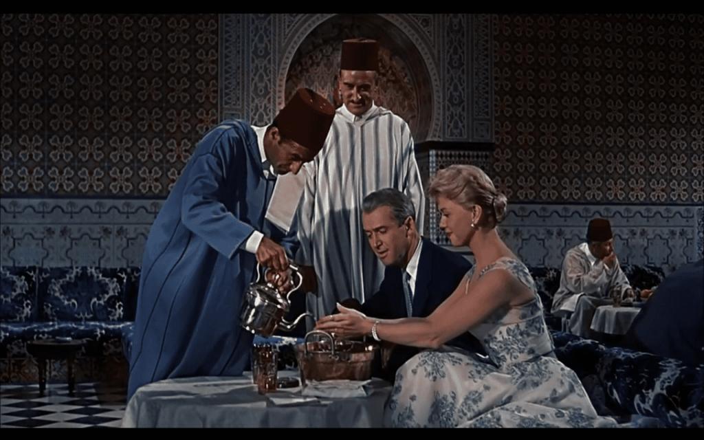 """""""L'uomo che sapeva troppo"""", Alfred Hitchcock dar essalam marrakech"""