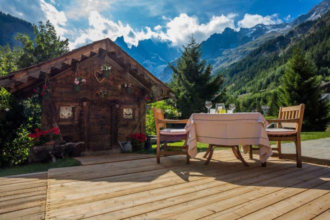 Top 5 delle destinazioni del benessere in italia latitudes for Albergo de la maison courmayeur