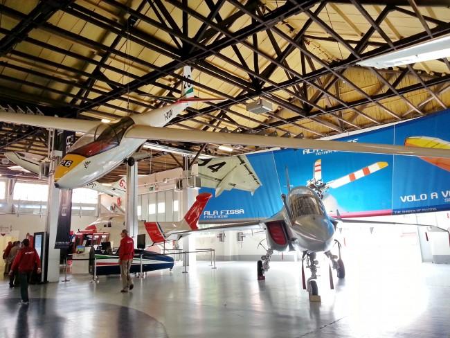 Parco e Museo del Volo Malpensa. Foto di Thanate Tan via FlickrCC