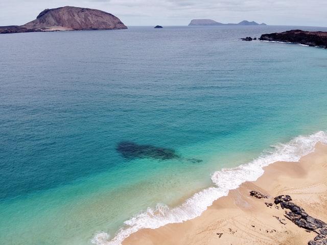 tenerife isole canarie mare oceano spiaggia giorno