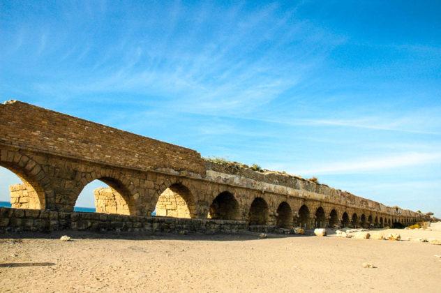 israele acquedotto romano