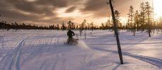 Avventura invernale nella Lapponia svedese