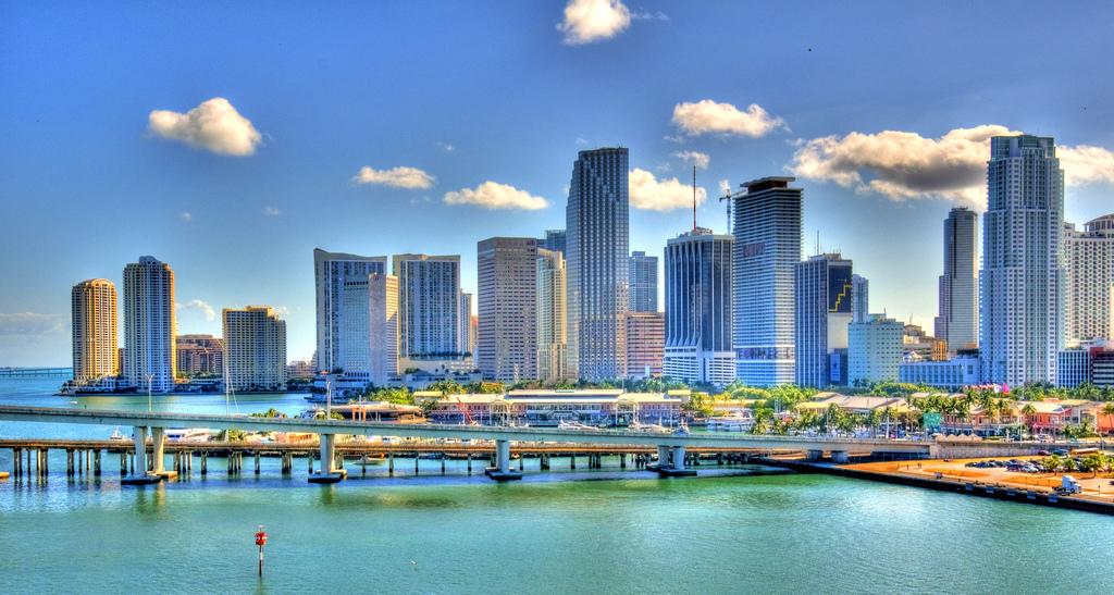 Skyline Miami, Florida