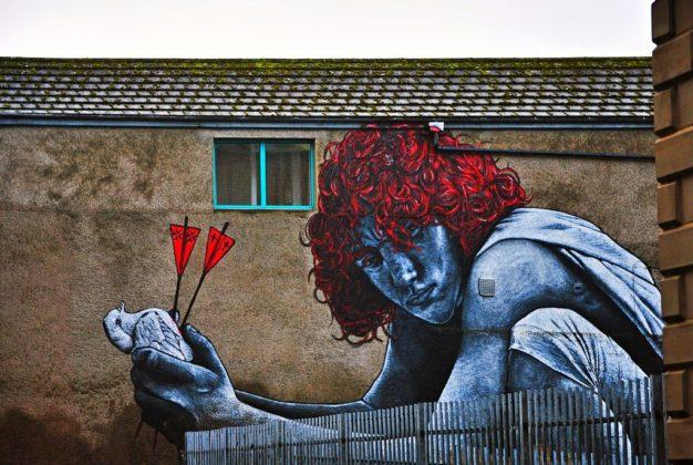 Murales a Belfast,
