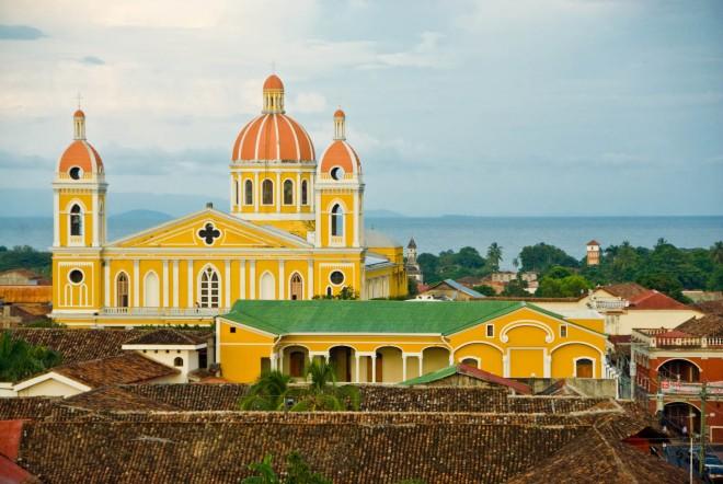 Nicaragua, la cattedrale di Granada