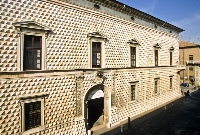 Palazzo dei Diamanti, Ferrara, Emilia Romagna, Italy, Europe