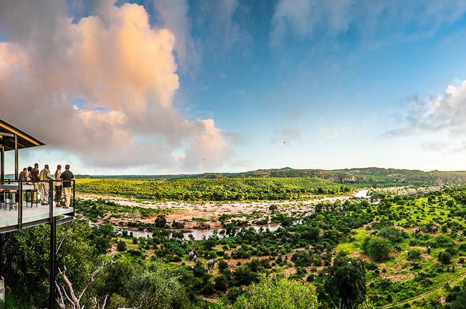 Panorama sulla savana