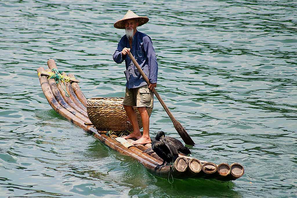 pesca-cormorani-cina-Fiume.Li