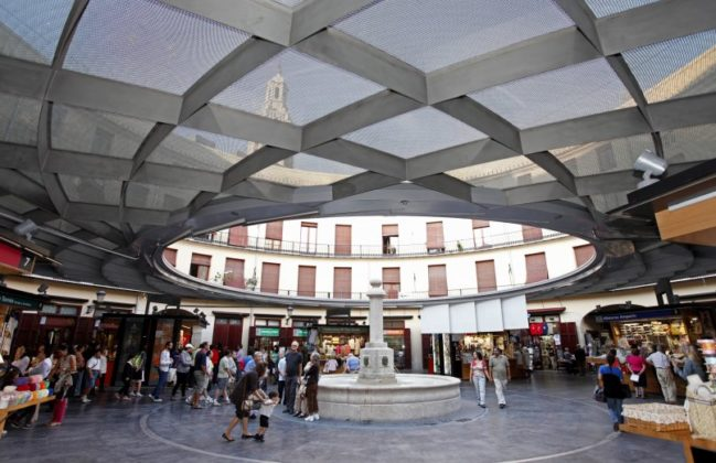 Piazza Rotonda, Valencia, Spagna