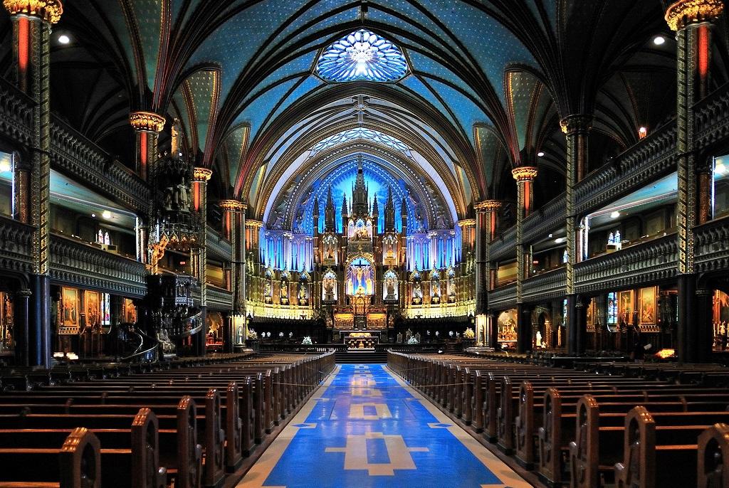 Basilica Notre Dame, Quebec