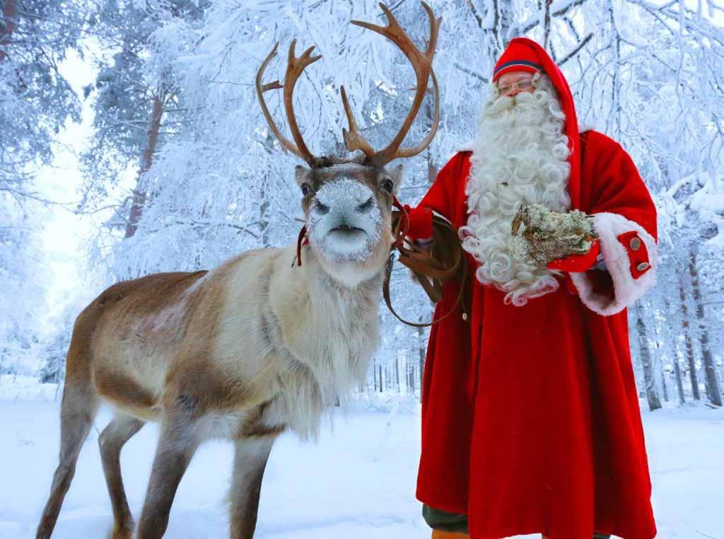 Babbo Natale Vive Al Polo Nord.Dove Abita Babbo Natale Latitudes