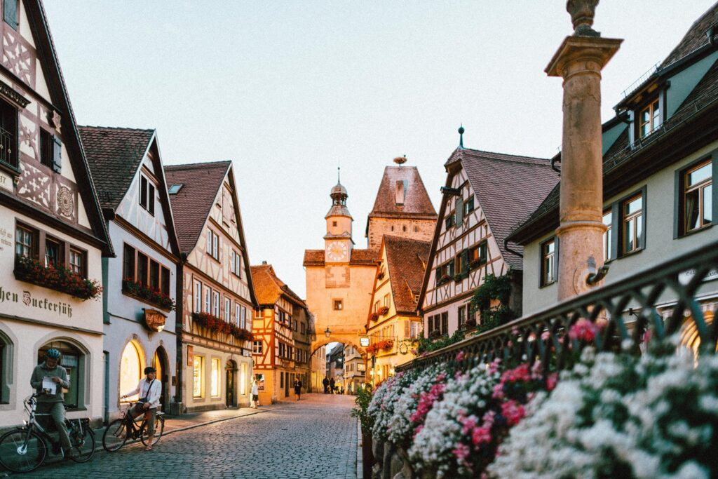 Germania percorsi alternativi nuove idee villaggi paesini