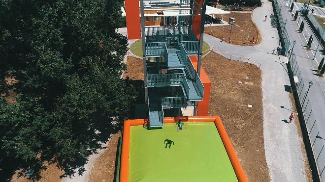 Parco avventura torre boldone Bergamo