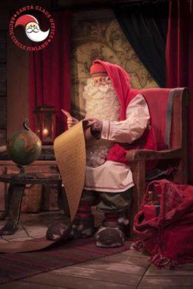 Babbo Natale a Rovaniemi