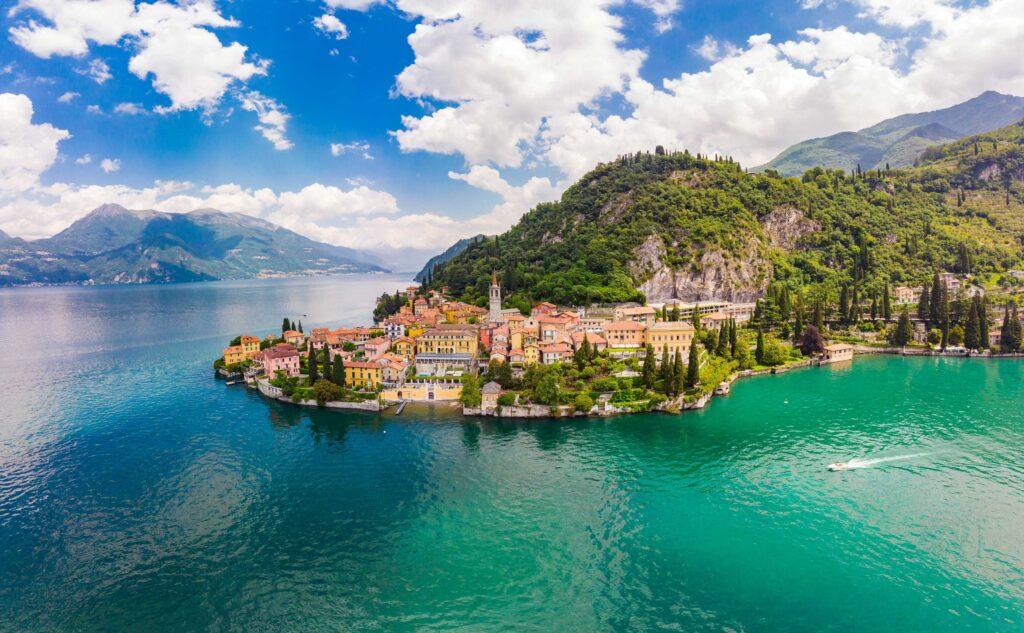 lago di como weekend romantico airbnb
