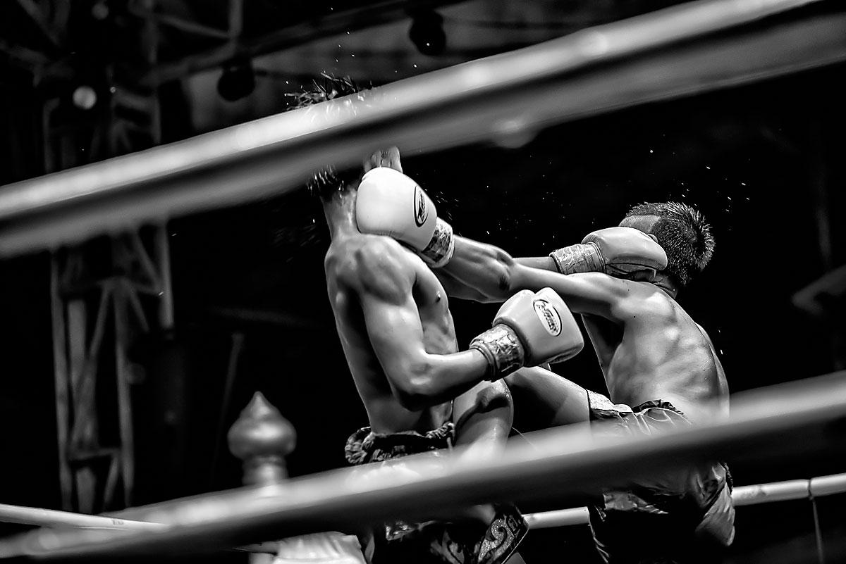 Chiang Mai, incontro di Muay Thai