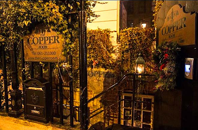 L'ingresso di The Copper Room a Limerick
