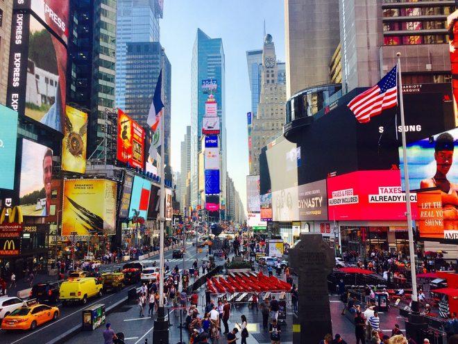Shopping a new york idee e negozi da non perdere latitudes for Time square londra